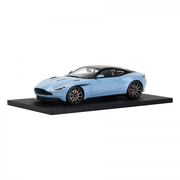 DB11 1:18 Scale Model - Frosted Glass Blue