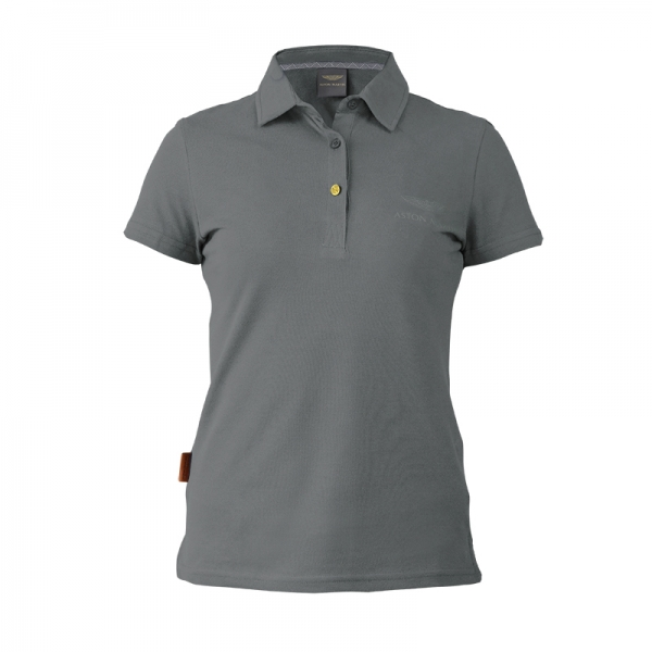 GREY ASTON MARTIN POLO-LADIES